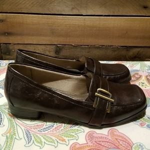 Life Stride Low Chunky Heel Loafers